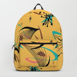 Mid Century Modern Retro Backpack
