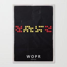 AI - WOPR Canvas Print