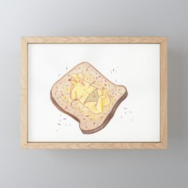 Fairy Toast Framed Mini Art Print
