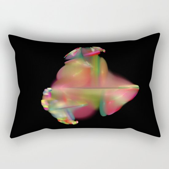 Spaceflower (A7 B0189) Rectangular Pillow