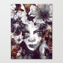 The Wallflower Canvas Print