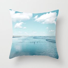 Cumberland birds by #Bizzartino Throw Pillow