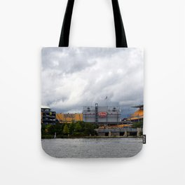 Pittsburgh Tour Series - Heinz Field Tote Bag