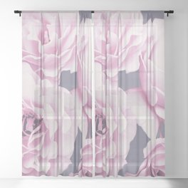 Roses Sheer Curtain