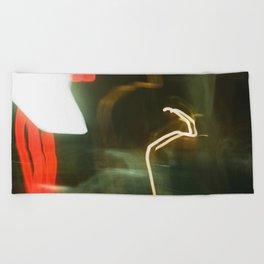 Film Blur Beach Towel
