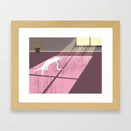 Lazy Sunday Framed Art Print