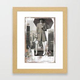 In the Big City Framed Art Print