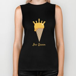 Ice Queen Ice Cream Biker Tank