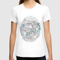 victorian T-shirts featuring Victorian London by Meritxell Garcia