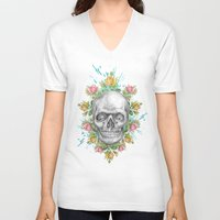 pie V-neck T-shirts featuring Sweetie pie by Ginger Pigg Art & Design