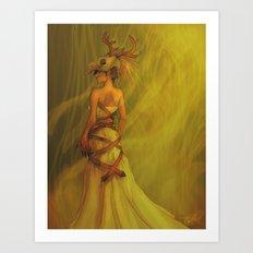 wildwoods Art Print