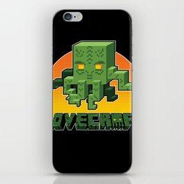 Minecraftian iPhone Skin