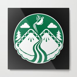Twin Pies Coffee Metal Print