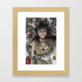 Reindeer Mikuru Framed Art Print