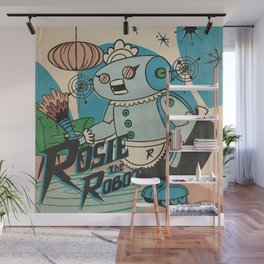 Rosie The Robot Wall Mural