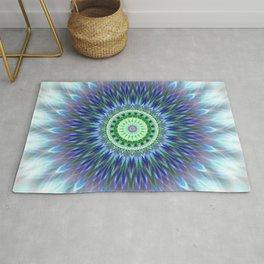 Light Mandala Rug