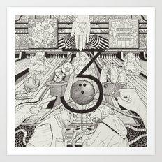 N0.3 Art Print
