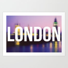 London - Cityscape Art Print