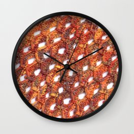 Celestial Phantoms Wall Clock