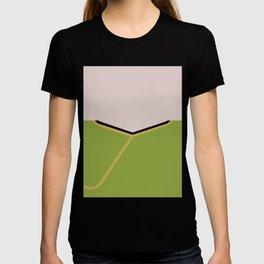 James T Kirk - Minimalist Star Trek TOS The Original Series -  James Jim - startrek - Trektangles T-shirt