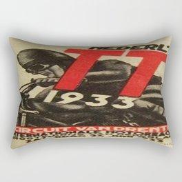 Vintage poster - Dutch Motorcycles Rectangular Pillow