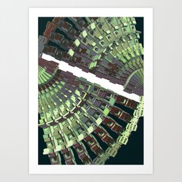 Mechanical 18 Art Print