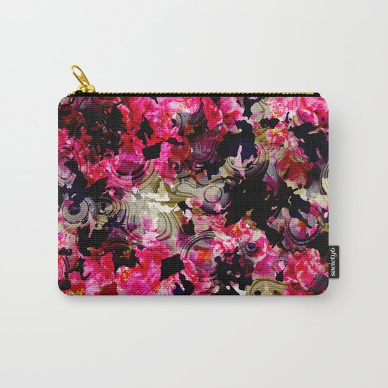 Fashion Textile Pattern Carry-All Pouch