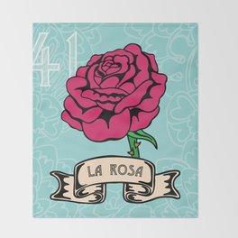 La Rosa Throw Blanket