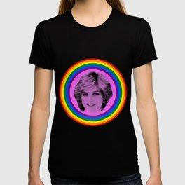 Lady Diana Gay Icon LGBT Pride season Royal Family T-shirt