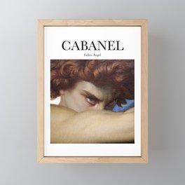Cabanel - Fallen Angel Framed Mini Art Print