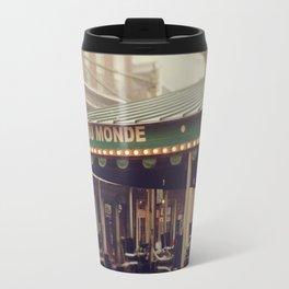 Foggy Cafe Du Monde Travel Mug
