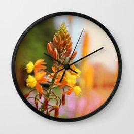 Flower series 03 Wall Clock