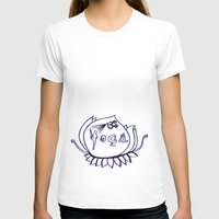 yoga T-shirts featuring Yoga by humbeats_ec