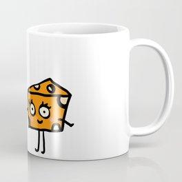 """Macaroni and Cheese Lovers"" Playful Pasta Art Coffee Mug"