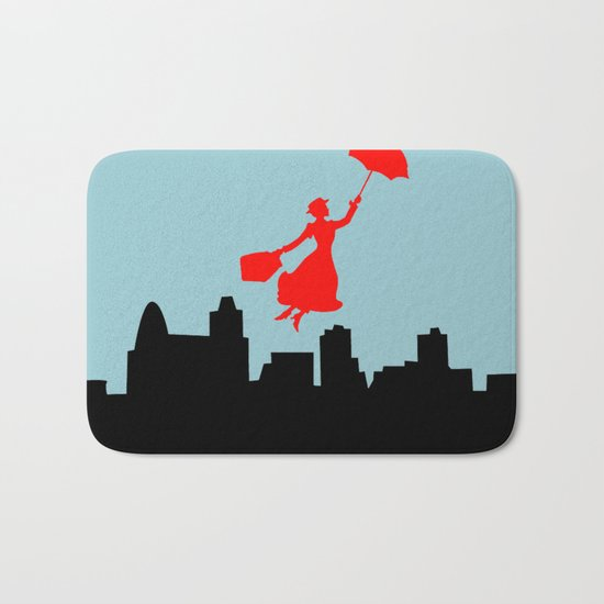 Mary Poppins  Bath Mat