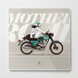 The Mother Road Metal Print