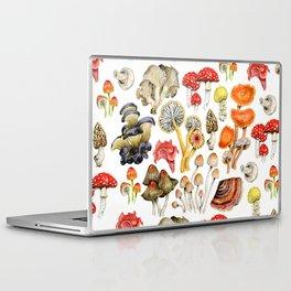 Mushroom Patterns Laptop & iPad Skin