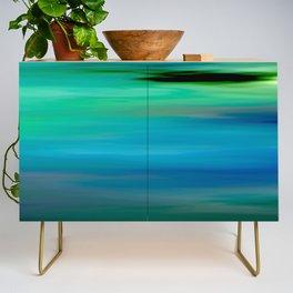 Seascape - blurography Credenza