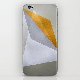 Golden Edge iPhone Skin