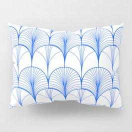 Art Deco Blue #pattern #illustration Pillow Sham