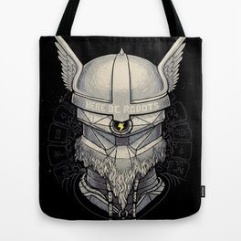 Viking robot Tote Bag