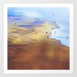 San Francisco Ocean Beach 2 Art Print
