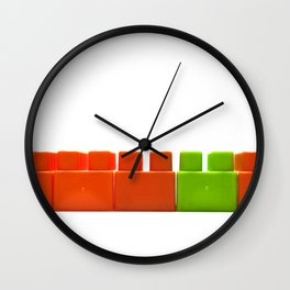 majority or minority Wall Clock
