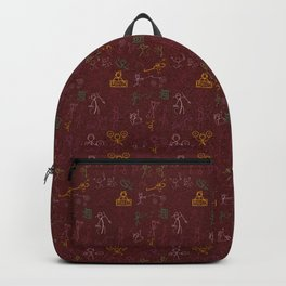Old Hip Hop cave paintings Backpack