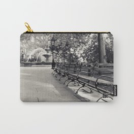 On a Park Bench At City Hall Carry-All Pouch