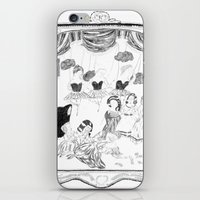 theatre iPhone & iPod Skins featuring theatre by mariana, a miserável(the miserable one)