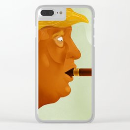 Paris Trumps Trump Clear iPhone Case