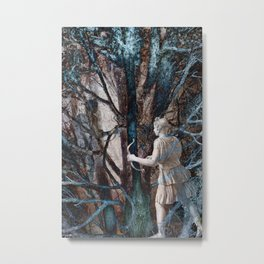 Diana in the Magic Forest Metal Print