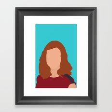 Lily Aldrin HIMYM Framed Art Print