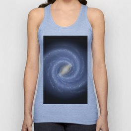 R Hurt - Artistic Representation of the Milky Way (2013) Unisex Tank Top